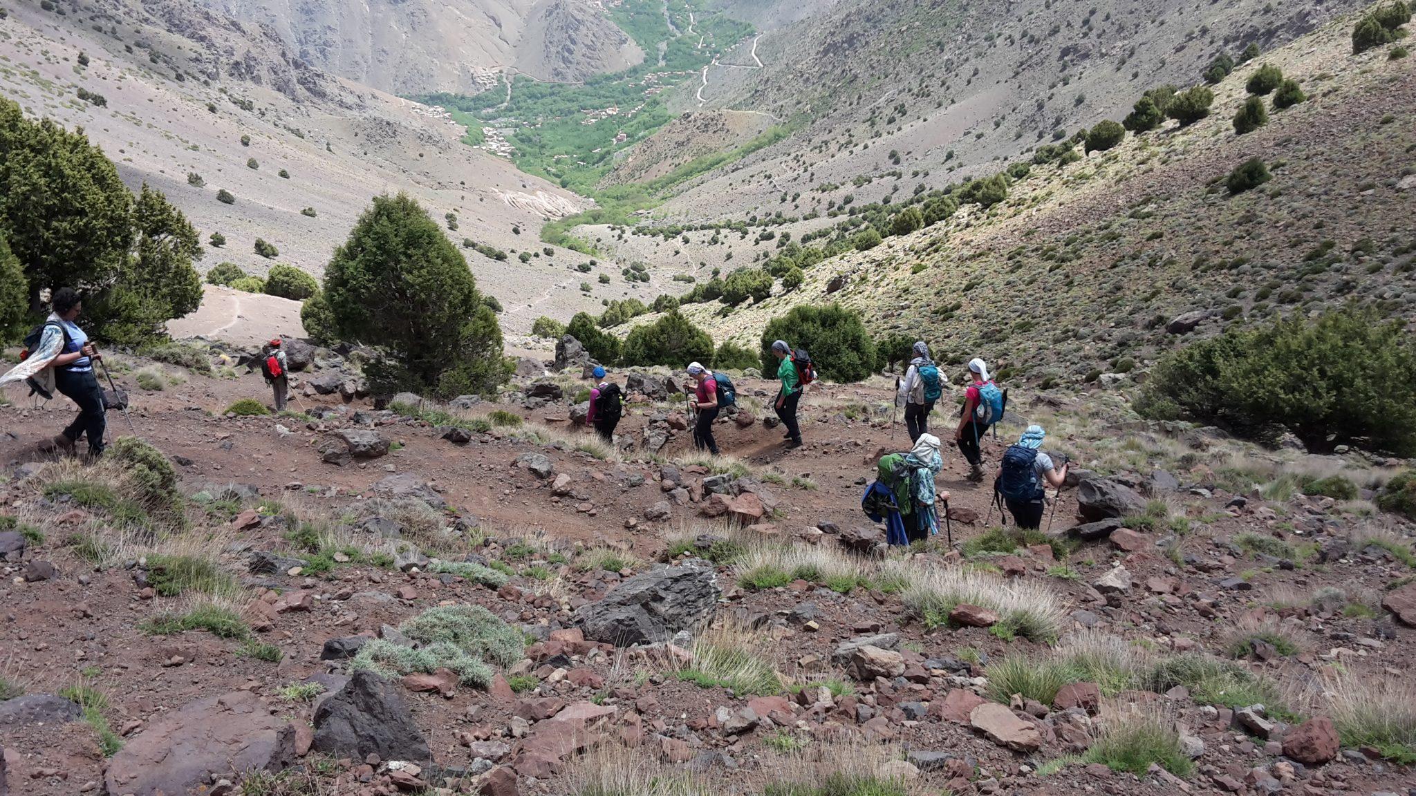 trektocht Marokko hoofdfoto