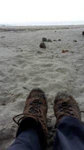 Fisterra · het strand