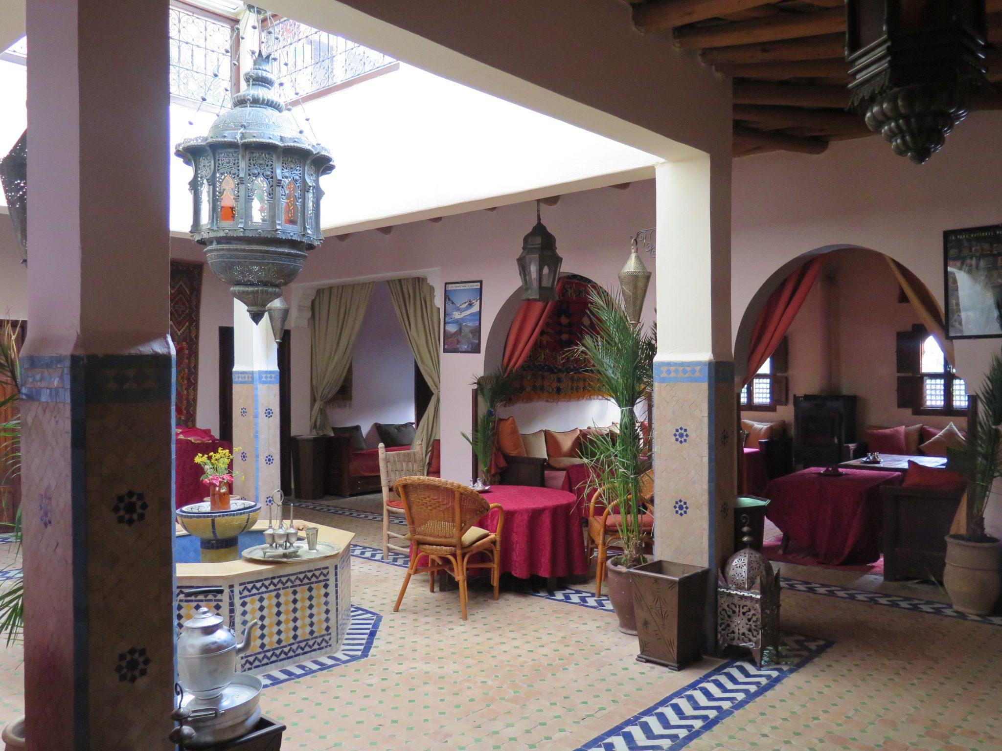 trektocht Marokko